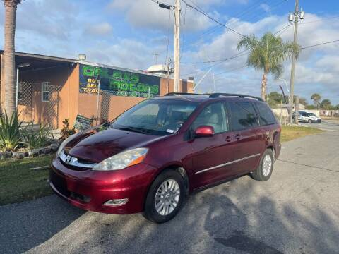 2008 Toyota Sienna for sale at Galaxy Motors Inc in Melbourne FL