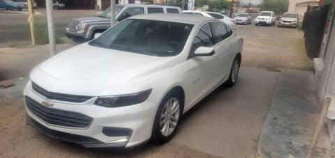 2016 Chevrolet Malibu for sale at Hotline 4 Auto in Tucson AZ
