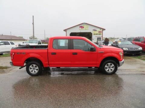 2016 Ford F-150 for sale at Jefferson St Motors in Waterloo IA
