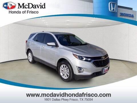 2018 Chevrolet Equinox for sale at DAVID McDAVID HONDA OF IRVING in Irving TX