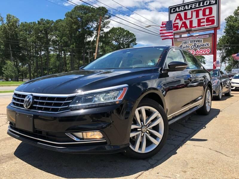 2016 Volkswagen Passat for sale at Carafello's Auto Sales in Norfolk VA