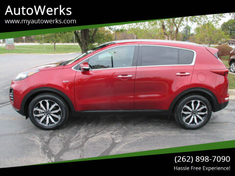 2017 Kia Sportage for sale at AutoWerks in Sturtevant WI