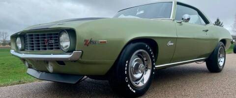 1969 Chevrolet Camaro for sale at Masterpiece Motorcars in Germantown WI