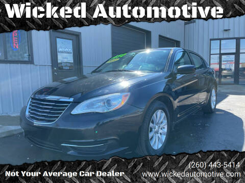 2011 Chrysler 200 for sale at Wicked Automotive in Fort Wayne IN