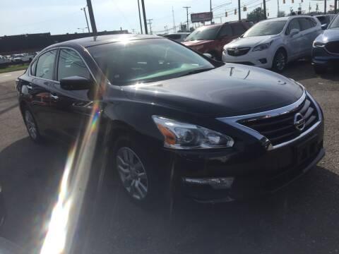 2014 Nissan Altima for sale at M-97 Auto Dealer in Roseville MI