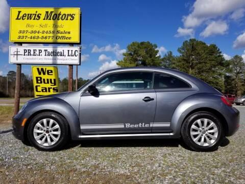 2013 Volkswagen Beetle for sale at Lewis Motors LLC in Deridder LA