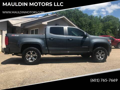 2017 Chevrolet Colorado for sale at MAULDIN MOTORS LLC in Sumrall MS
