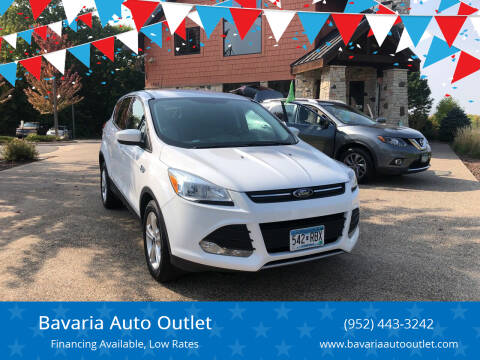 2015 Ford Escape for sale at Bavaria Auto Outlet in Victoria MN