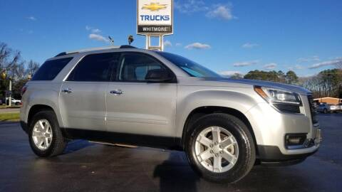 2014 GMC Acadia for sale at Whitmore Chevrolet in West Point VA