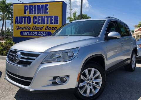 2009 Volkswagen Tiguan for sale at PRIME AUTO CENTER in Palm Springs FL
