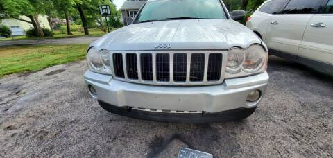 2007 Jeep Grand Cherokee for sale at NEW ENGLAND AUTO CENTER in Lowell MA