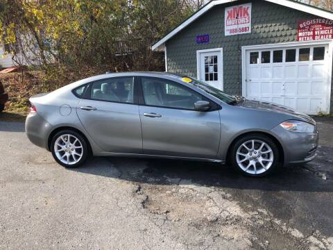 2013 Dodge Dart for sale at KMK Motors in Latham NY