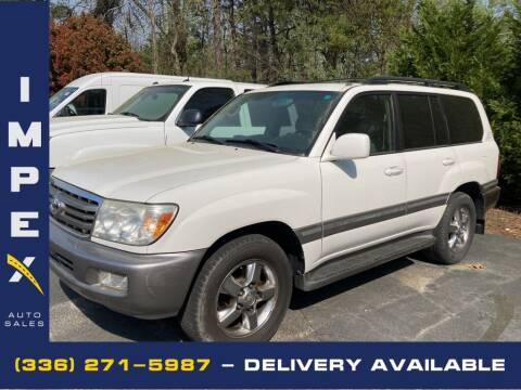 2007 Toyota Land Cruiser for sale at Impex Auto Sales in Greensboro NC