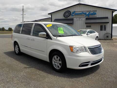 2011 Chrysler Town and Country for sale at Country Auto in Huntsville OH