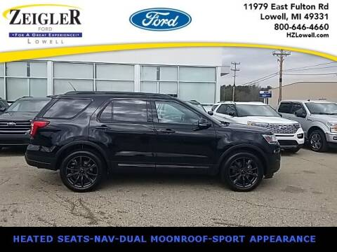 2018 Ford Explorer for sale at Zeigler Ford of Plainwell- Jeff Bishop in Plainwell MI