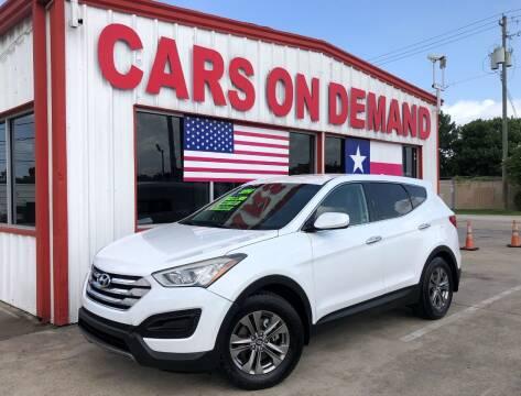 2014 Hyundai Santa Fe Sport for sale at Cars On Demand 3 in Pasadena TX