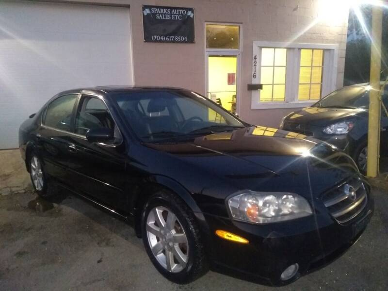 2003 Nissan Maxima for sale at Sparks Auto Sales Etc in Alexis NC