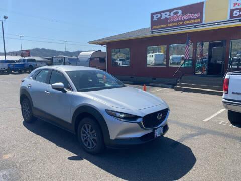 2020 Mazda CX-30 for sale at Pro Motors in Roseburg OR