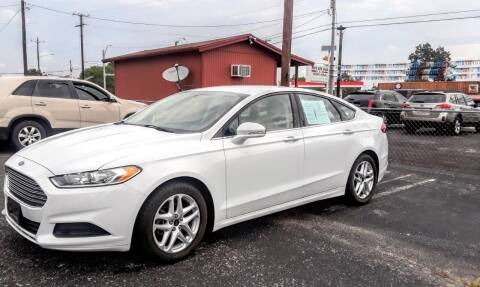 2015 Ford Fusion for sale at Rons Auto Sales in Stockdale TX