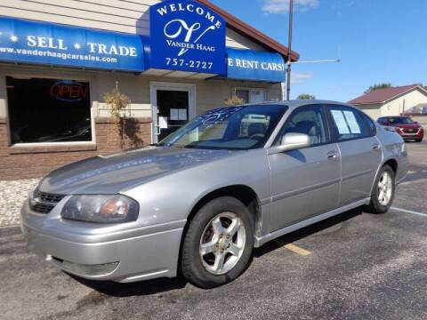 2005 Chevrolet Impala for sale at VanderHaag Car Sales LLC in Scottville MI
