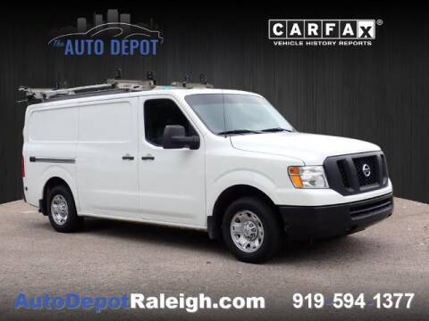 2017 Nissan NV Cargo for sale at The Auto Depot in Raleigh NC
