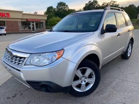 2011 Subaru Forester for sale at Gwinnett Luxury Motors in Buford GA