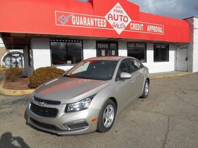 2016 Chevrolet Cruze Limited for sale at Oak Park Auto Sales in Oak Park MI