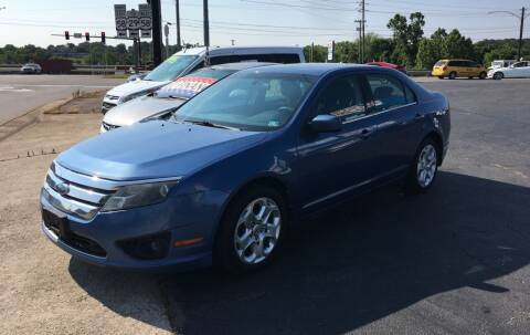 2010 Ford Fusion for sale at Brian Jones Motorsports Inc in Danville VA