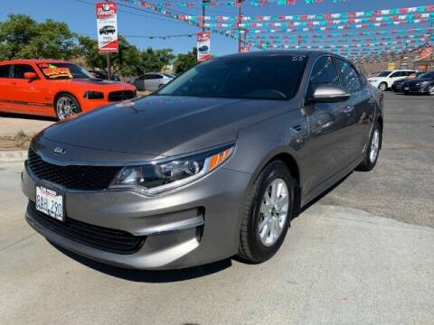 2018 Kia Optima for sale at Los Compadres Auto Sales in Riverside CA