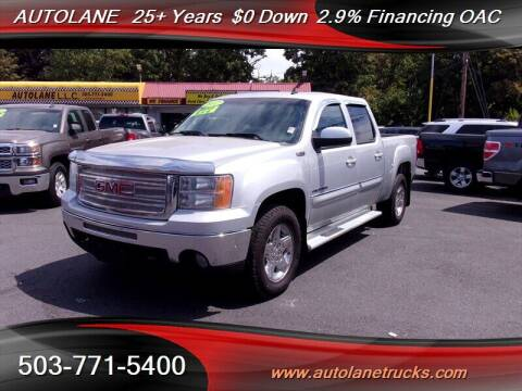 2012 GMC Sierra 1500 for sale at Auto Lane in Portland OR