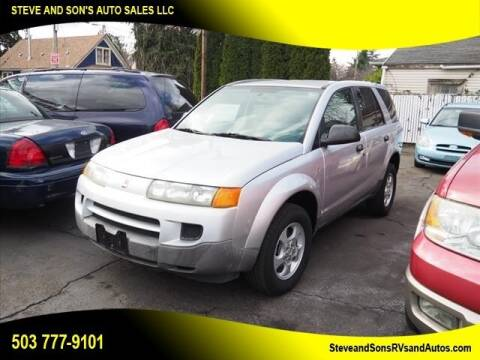 2004 Saturn Vue for sale at Steve & Sons Auto Sales in Happy Valley OR
