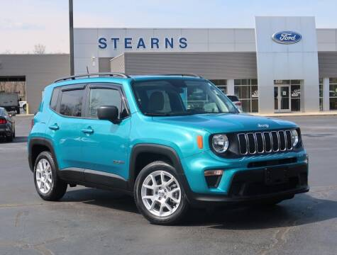 2020 Jeep Renegade for sale at Stearns Ford in Burlington NC