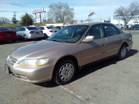 2001 Honda Accord for sale at Larry's Auto Sales Inc. in Fresno CA