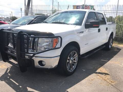 2012 Ford F-150 for sale at Texas Luxury Auto in Houston TX