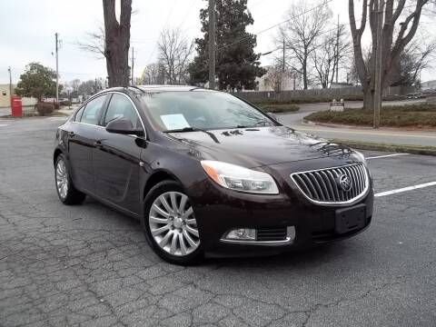 2011 Buick Regal for sale at CORTEZ AUTO SALES INC in Marietta GA