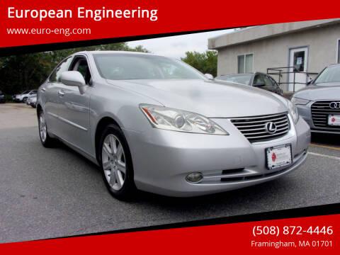 2007 Lexus ES 350 for sale at European Engineering in Framingham MA
