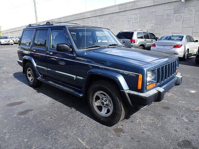 1999 Jeep Cherokee for sale at DONNY MILLS AUTO SALES in Largo FL