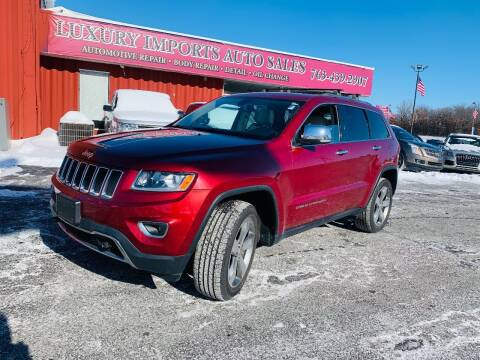 2014 Jeep Grand Cherokee for sale at LUXURY IMPORTS AUTO SALES INC in North Branch MN