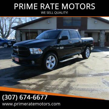 2015 RAM Ram Pickup 1500 for sale at PRIME RATE MOTORS in Sheridan WY