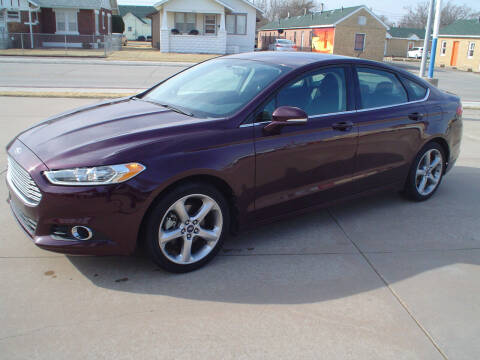2013 Ford Fusion for sale at World of Wheels Autoplex in Hays KS