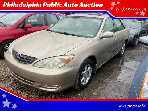2002 Toyota Camry for sale at Philadelphia Public Auto Auction in Philadelphia PA