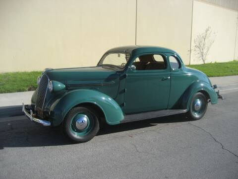 1937 Plymouth 2 Door Coupe for sale at HIGH-LINE MOTOR SPORTS in Brea CA
