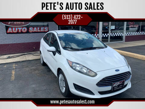 2016 Ford Fiesta for sale at PETE'S AUTO SALES - Middletown in Middletown OH