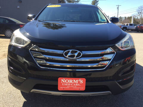 2013 Hyundai Santa Fe Sport for sale at NORM'S USED CARS INC - Trucks By Norm's in Wiscasset ME