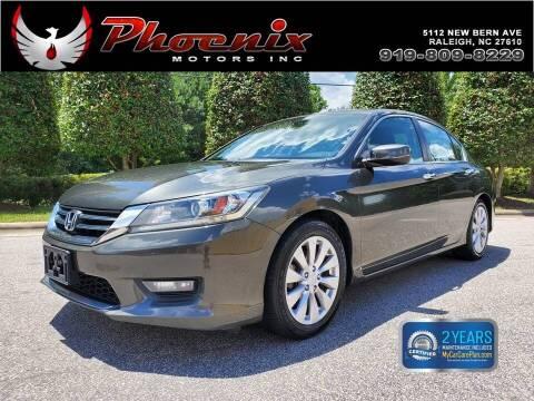 2014 Honda Accord for sale at Phoenix Motors Inc in Raleigh NC