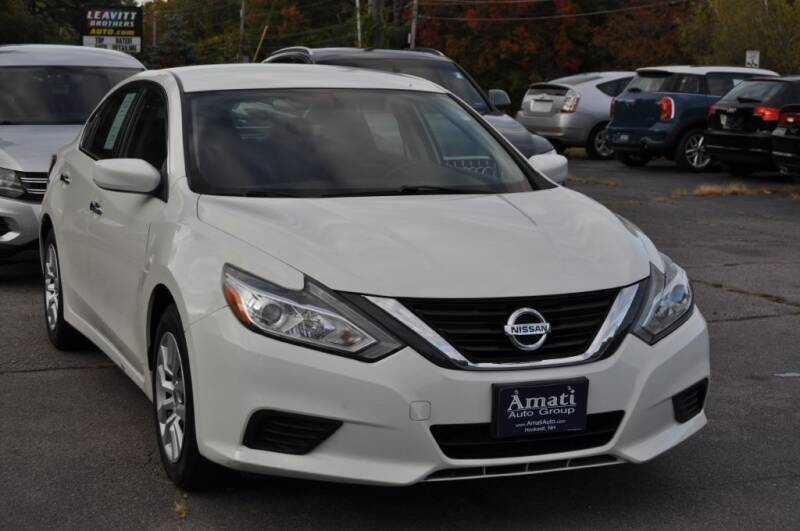 2016 Nissan Altima for sale at Amati Auto Group in Hooksett NH