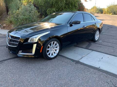 2014 Cadillac CTS for sale at BUY RIGHT AUTO SALES in Phoenix AZ