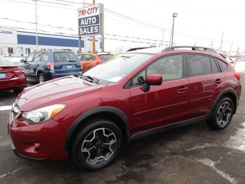 2013 Subaru XV Crosstrek for sale at TRI CITY AUTO SALES LLC in Menasha WI