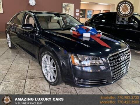 2014 Audi A8 for sale at Amazing Luxury Cars in Snellville GA