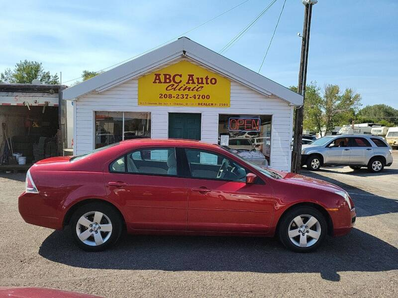 2006 Ford Fusion for sale at ABC AUTO CLINIC CHUBBUCK in Chubbuck ID